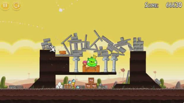 U. Angry Birds Level 3-21 Walkthrough Promo Image