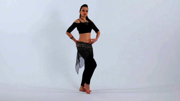 ZD. How to Do a Hip Drop & Kick Belly Dance Move Promo Image