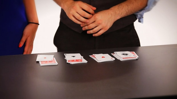 C. How to Do the 4 Aces Card Trick Promo Image