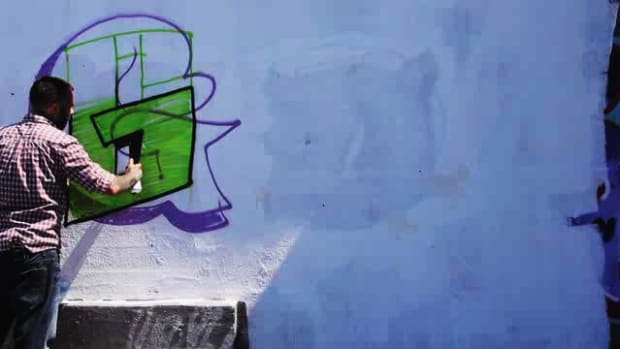 Q. How to Draw a G in Graffiti Promo Image