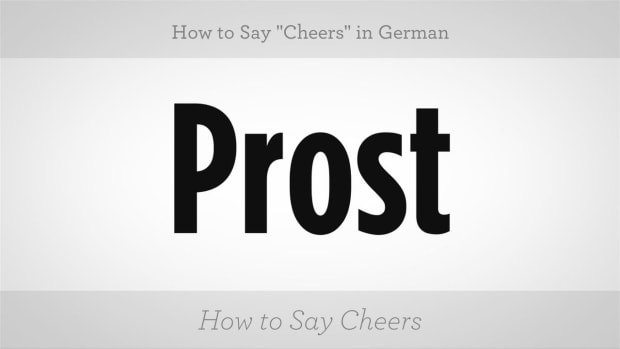 "ZA. How to Say ""Cheers"" in German Promo Image"