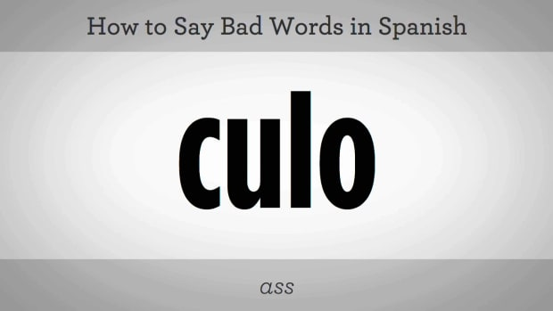 A. How to Say Bad Words in Spanish Promo Image