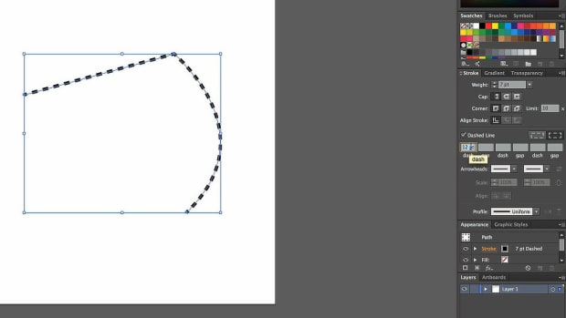 S. How to Create a Dashed Line with Adobe Illustrator Promo Image