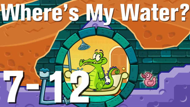 ZZZZZB. Where's My Water Walkthrough Level 7-12 Promo Image