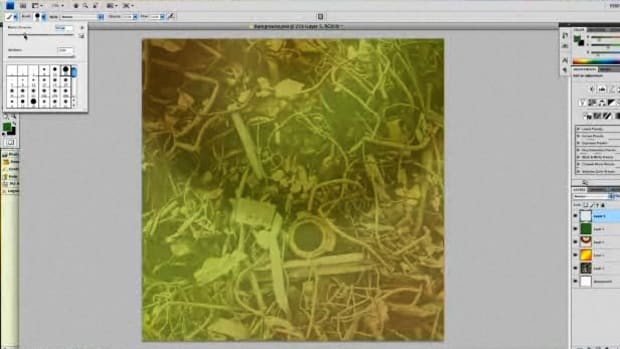 ZK. How to Create Digital Scrapbooking Background Paper & Embellishments Promo Image