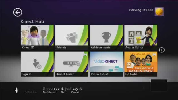 I. How to Open the Kinect Hub Promo Image