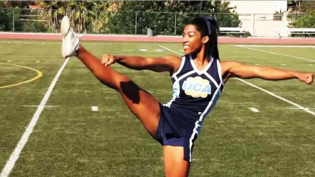Z. How to Do a Toe Touch in Cheerleading Promo Image