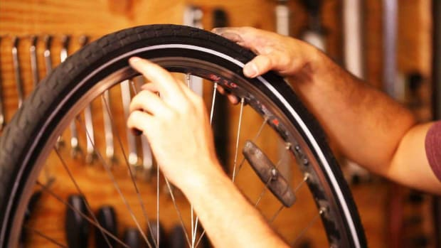 H. How to Install a Bike Tire Promo Image
