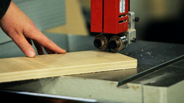 S. How to Use a Band Saw for Woodworking Promo Image