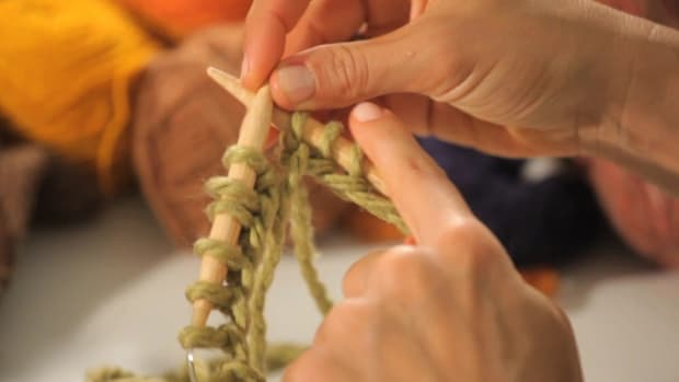 F. How to Cast On for Circular Knitting Promo Image