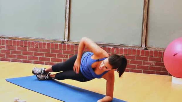 ZX. How to Do a Plank & Plank Variations for Female Leg Workout Promo Image