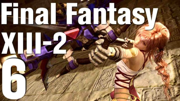F. Let's Play Final Fantasy XIII-2 Part 6 - Gogmagog Promo Image