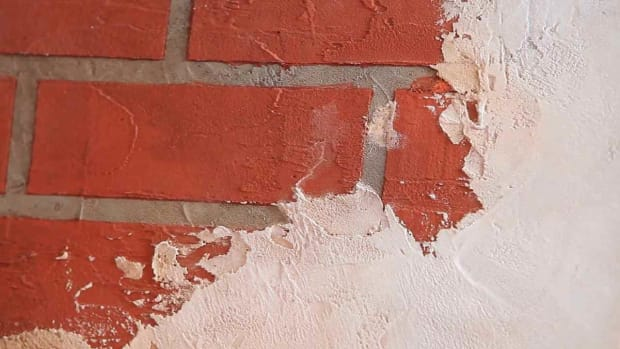 U. How to Paint a Wall to Look like Brick & Tile Promo Image