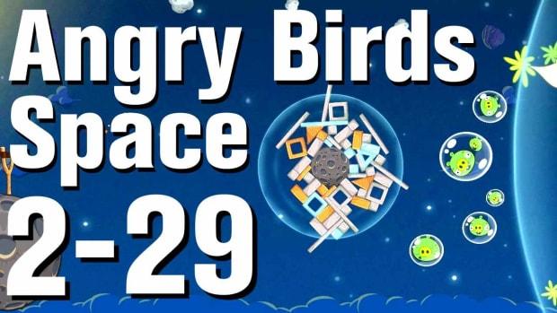 ZZG. Angry Birds: Space Walkthrough Level 2-29 Promo Image