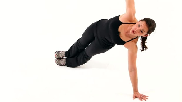 H. How to Do a Push-Up Side Plank for a Boot Camp Workout Promo Image