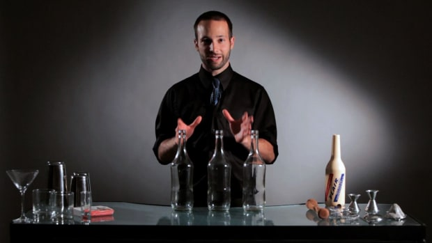 R. How to Juggle Liqour Bottles Promo Image