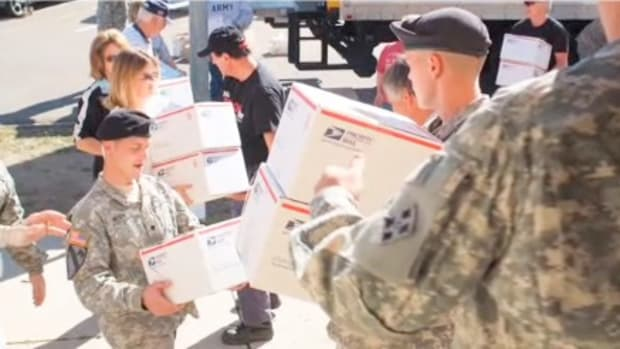 D. How to Send Care Packages to Troops Overseas Promo Image