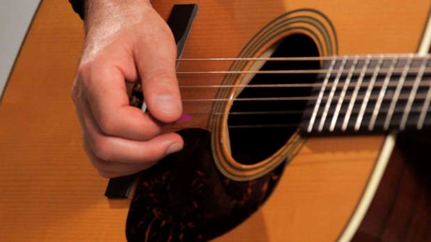 G. How to Play Flatpicking Style Country Guitar Promo Image