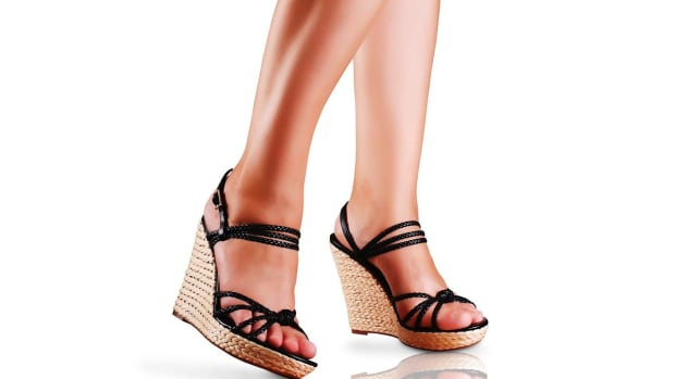 ZD. How to Walk in High-Heeled Wedges Promo Image