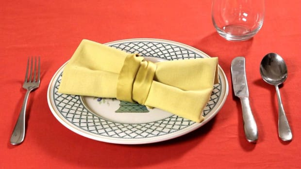 V. How to Fold a Napkin into a Bow Tie Promo Image