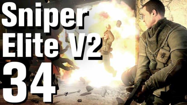 ZH. Sniper Elite V2 Walkthrough Part 34 - Karlshorst Command Post Promo Image