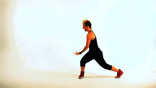 O. How to Do a Side Snake Lunge Dance Move Promo Image