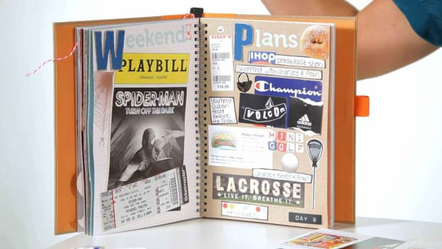 M. How to Include Memorabilia in Scrapbooks Promo Image