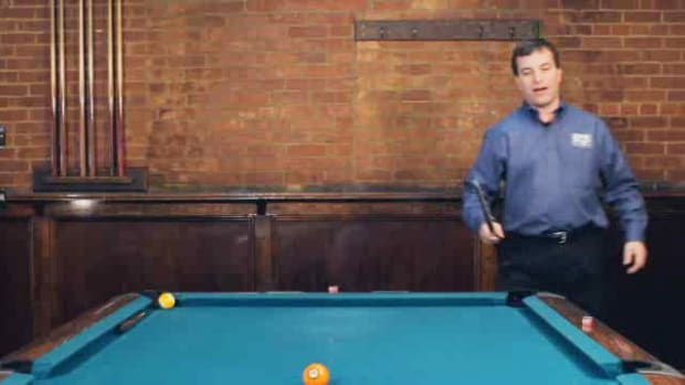 "ZX. How to Do the ""Double Kiss Masse"" Advanced Pool Trick Shot Promo Image"