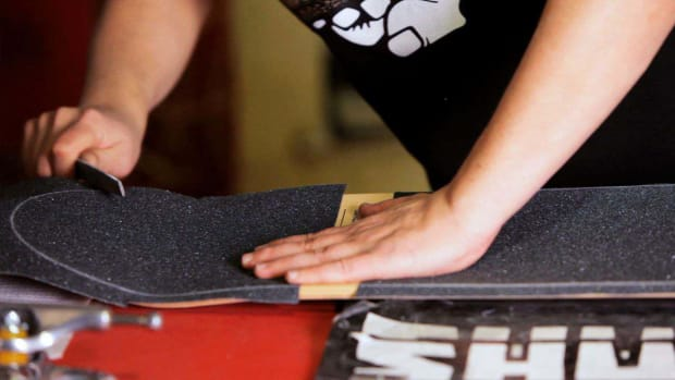 I. How to Trim & File Skateboard Grip Tape Promo Image