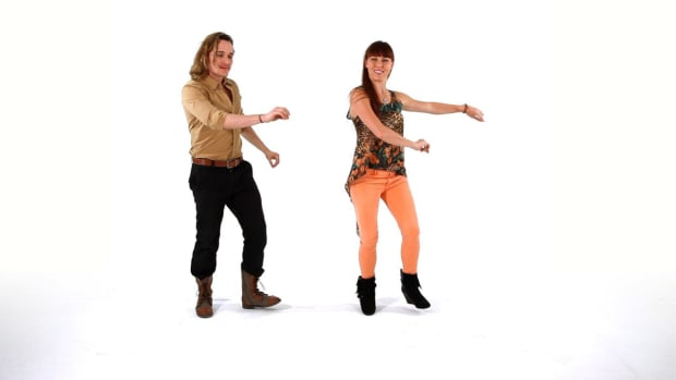 ZG. How to Do Easy Funky Footwork in Latin Fusion Dance Promo Image