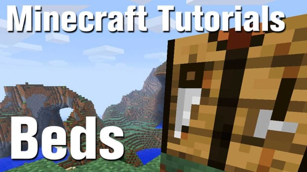 ZU. Minecraft Tutorial: How to Make a Bed in Minecraft Promo Image