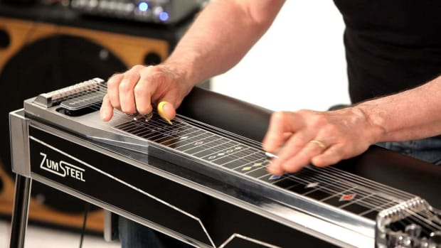 ZG. How to Play Sixth Chords on a Pedal Steel Guitar Promo Image