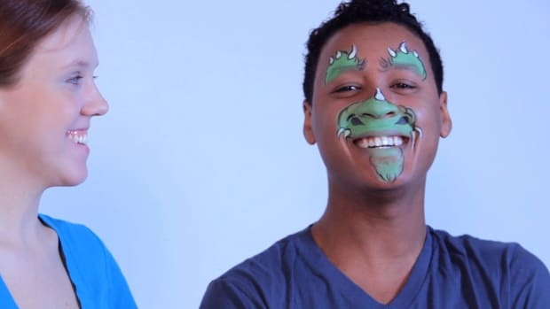 F. How to Paint a Dragon or Dinosaur with Face Paint Promo Image