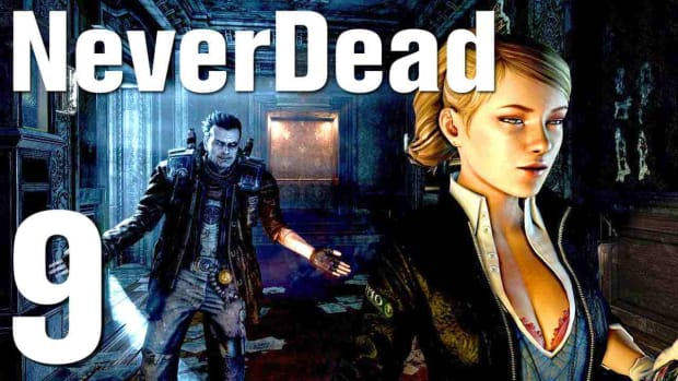 I. NeverDead Walkthrough - Part 9 Museum Block 3 Save Nikki Promo Image
