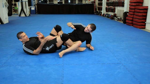 ZZK. How to Do a Heel Hook MMA Submission Promo Image