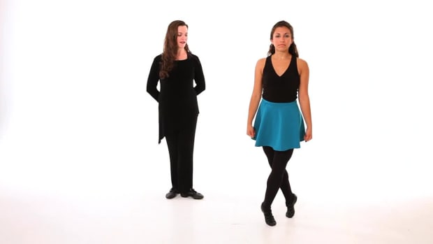 L. How to Do a Hop Step Move in Irish Step Dancing Promo Image