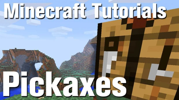 ZC. Minecraft Tutorial: How to Make a Pickaxe in Minecraft Promo Image