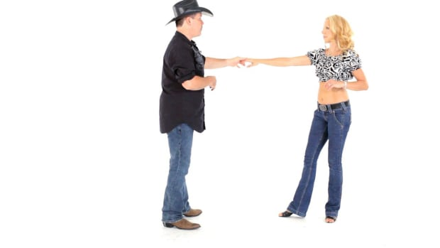 ZJ. How to Do Laces in Country Couples Line Dancing Promo Image