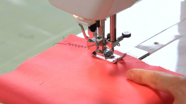 K. How to Make a Zigzag Stitch with a Sewing Machine Promo Image
