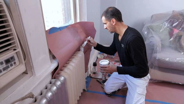 P. How to Prep Rusted Radiators & Metal for Painting Promo Image
