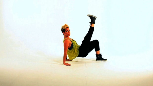 ZL. How to Do the Tricep Dip & Kick Dance Move Promo Image