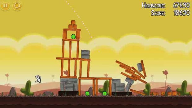 P. Angry Birds Level 3-16 Walkthrough Promo Image
