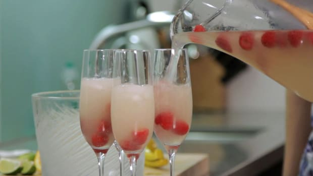 G. How to Make Champagne Cocktails Promo Image