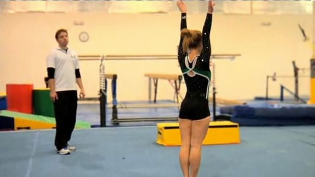 I. How to Do a Handspring in Gymnastics Promo Image