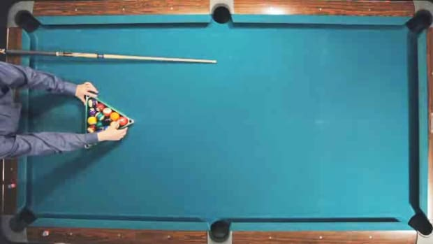 E. How to Rack & Break for Pool Trick Shots Promo Image