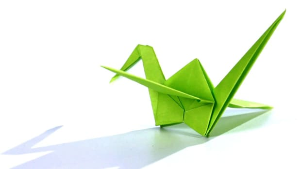 K. How to Make an Origami Crane Promo Image