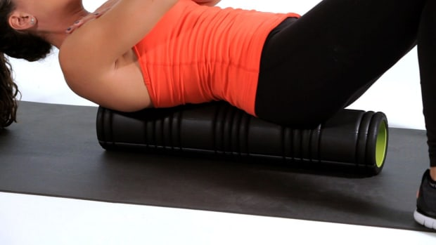 G. How to Foam Roll Your Back Promo Image