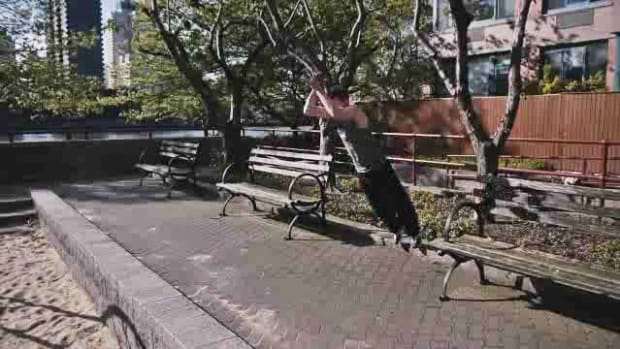 N. How to Do a Parkour Precision Jump aka Running Jump Promo Image
