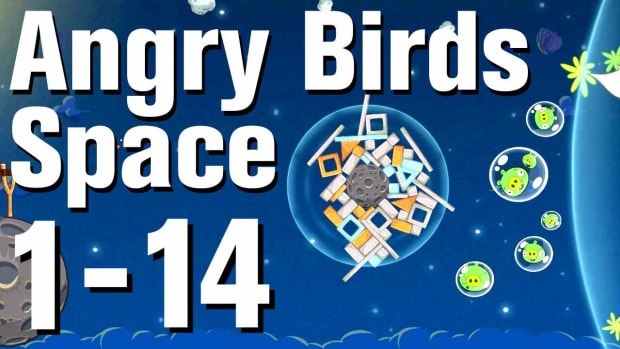 N. Angry Birds: Space Walkthrough Level 1-14 Promo Image