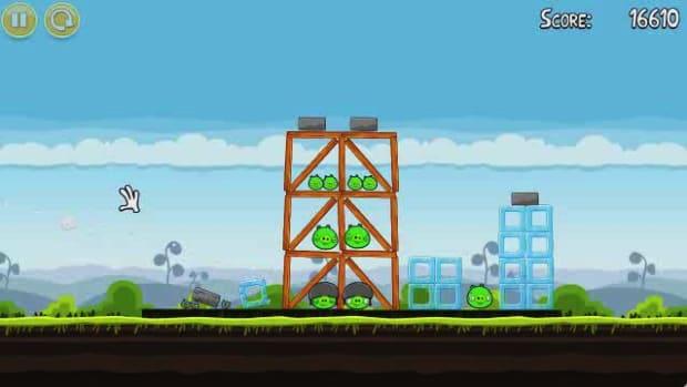 E. Angry Birds Level 4-5 Walkthrough Promo Image